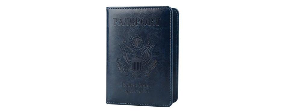 GDTK Leather Passport Wallet