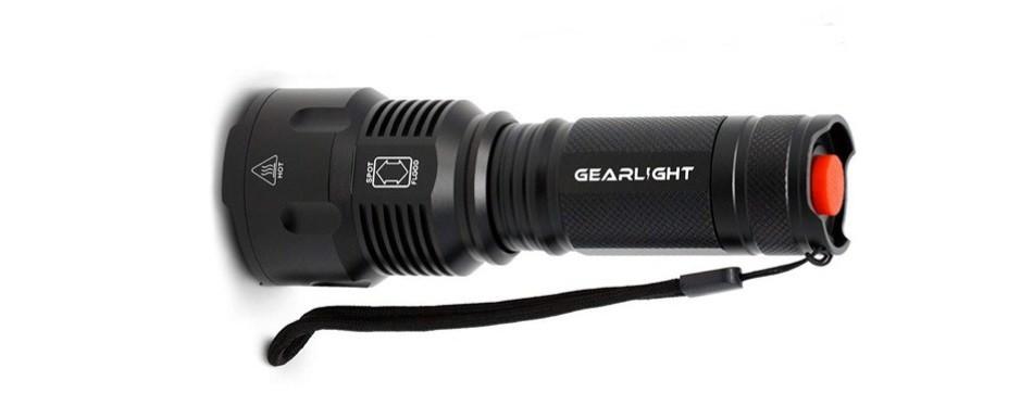 gearlight high-powered led flashlight