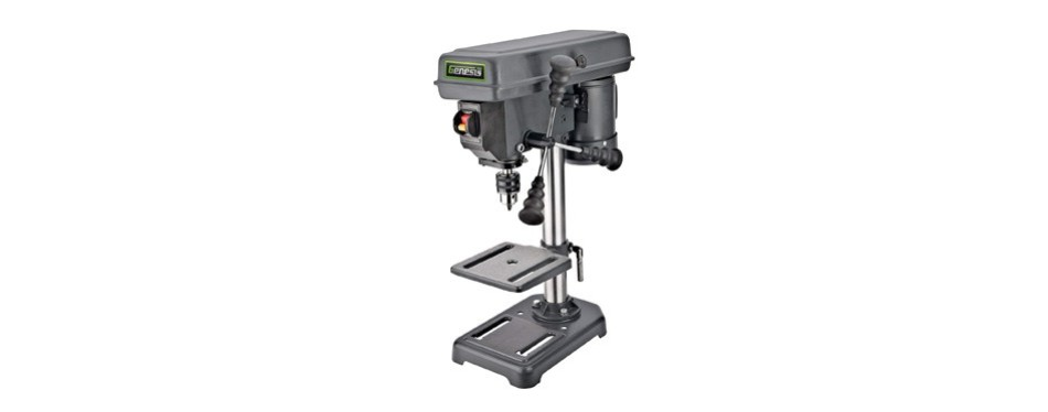 "genesis 8"" 5-speed 2.6 amp drill press"