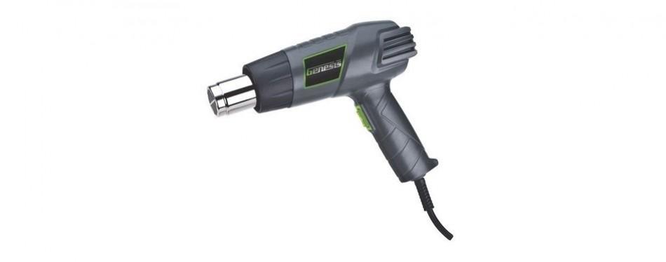 genesis ghg1500a dual temperature heat gun kit