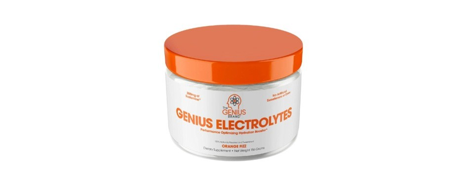 genius electrolyte powder natural hydration booster
