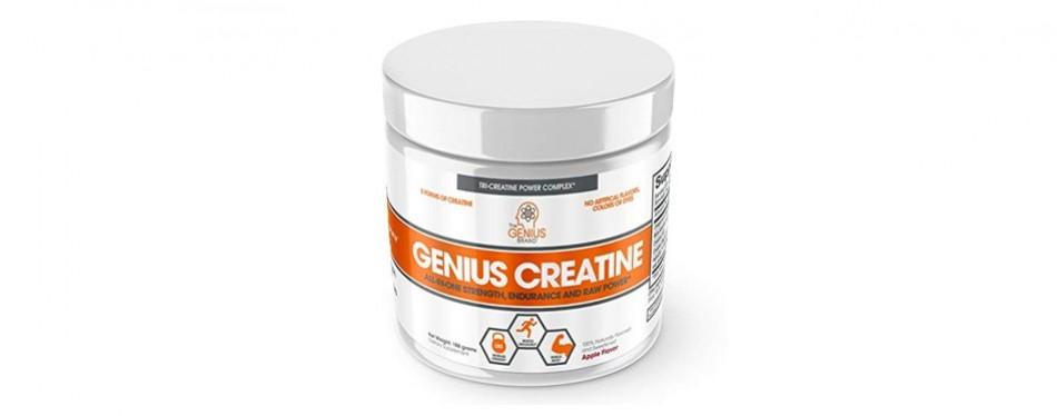 genius monohydrate creatine powder