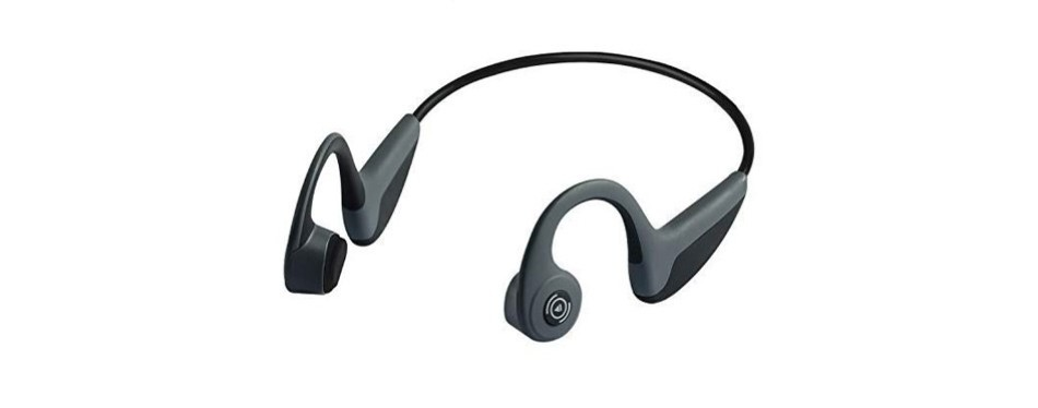 genso wireless bone conduction headphones
