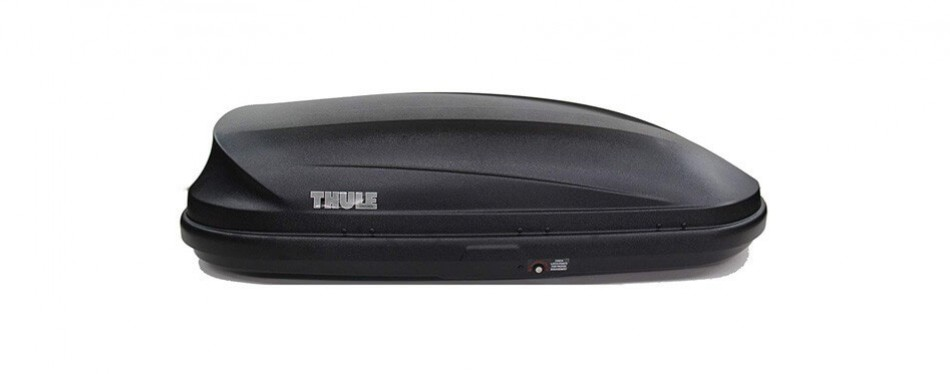 genuine ford vat4z-7855100-d roof mounted cargo box