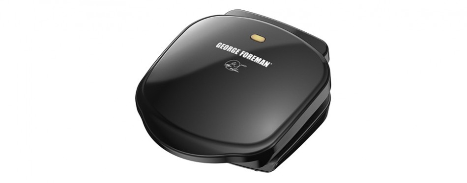 george foreman 2-serving classic plate grill and panini press