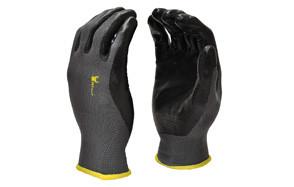 G&F Nylon Knit Nitrile Coated Work Gloves