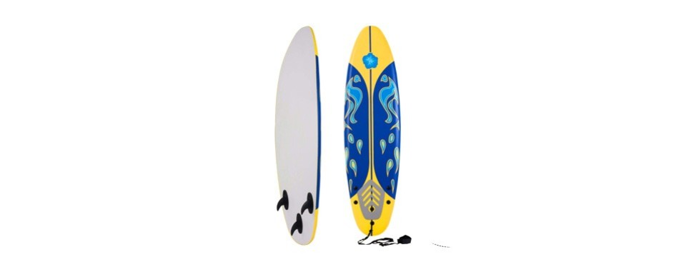 giantex 6' surfboard surfing surf beach ocean body foamie boar