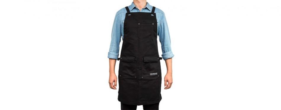 gidabrand professional grade chef kitchen apron