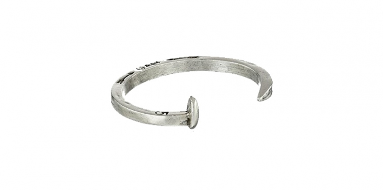 Giles & Brother Men's Railroad Spike Cuff Bracelet