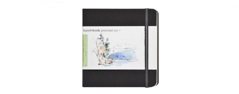 global art materials hand trav-e-logue drawing book artist journal