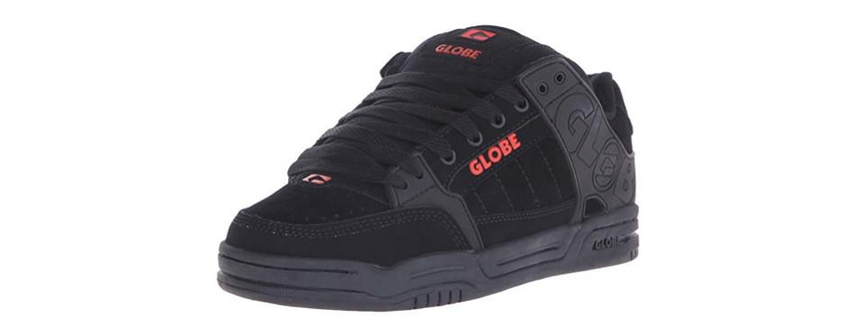globe tilt skateboarding shoe