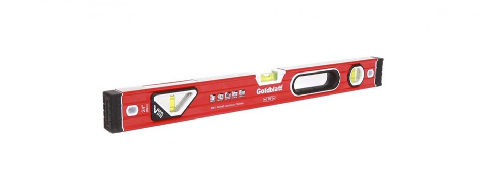 goldblatt double view vertical site i-box spirit level