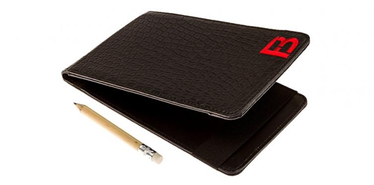Golf Scorecard Holder And Yardage Book