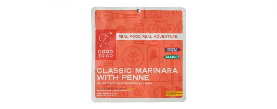 good to go classic marinara with penne