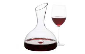 goodglassware wine decanter