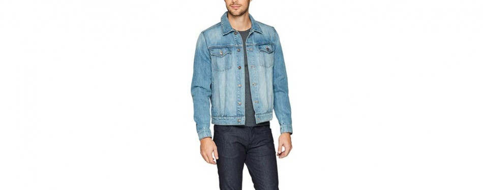 goodthreads men's denim jacket