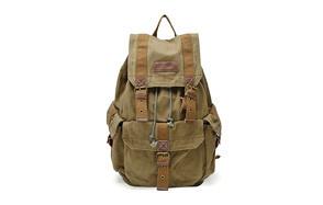 gootium high density canvas backpack