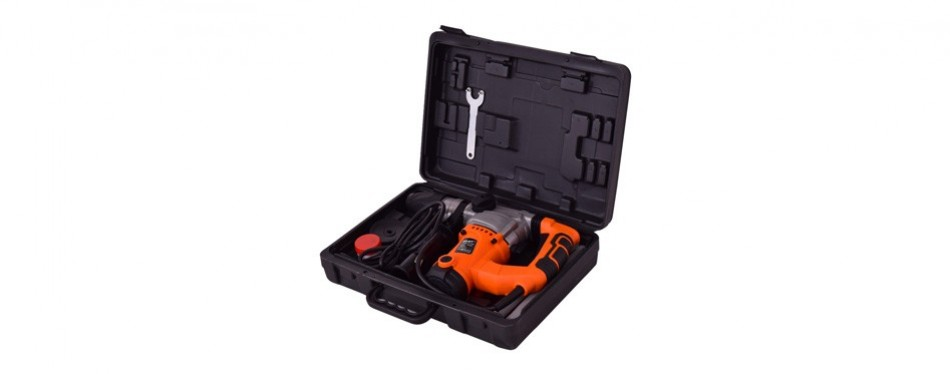 goplus electric rotary hammer drill