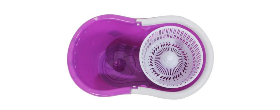 goplus microfiber spinning magic spin mop