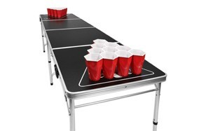 gopong 8 foot portable beer pong table