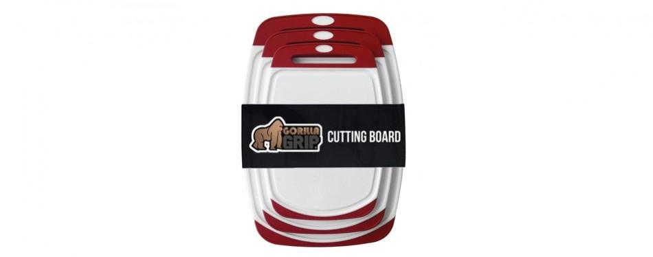 gorilla grip original reversible cutting board