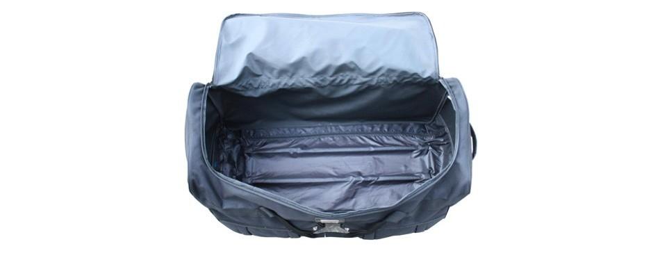 gothamite ro & co rolling duffel bag