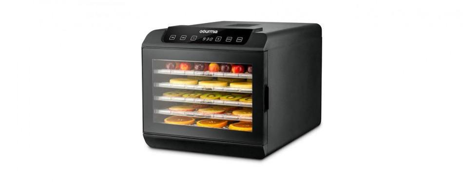 gourmia 6 shelf premium countertop food dehydrator