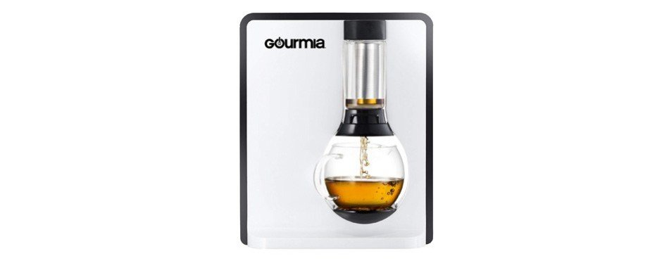 gourmia electric square coffee and tea maker