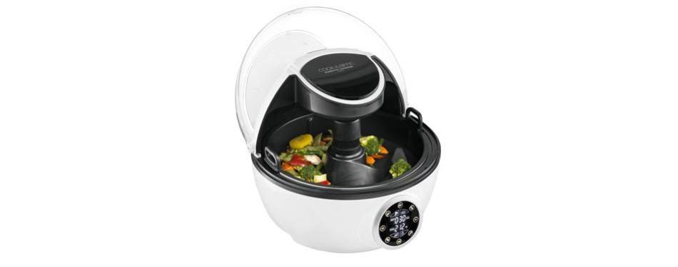 gourmia gcr1700 programmable multi pressure cooker & air fryer