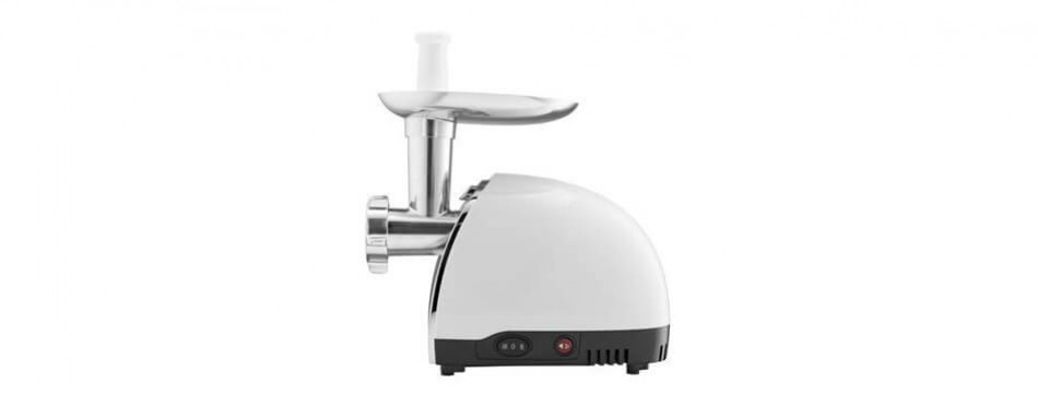 gourmia gmg525 electric meat grinder