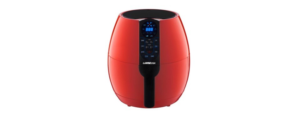 gowise usa 3.7-quart programmable air fryer with 8 cook presets
