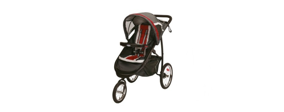 graco fastaction fold jogger click connect travel system