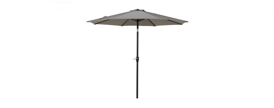 grand patio 9.7 ft aluminum patio umbrella