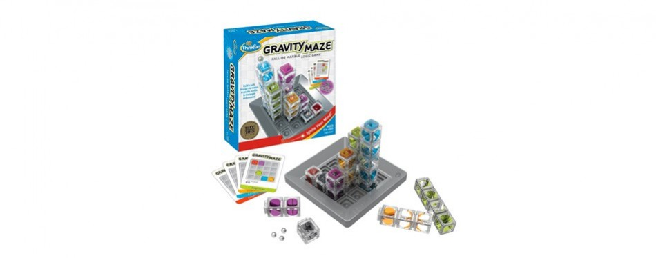 gravity maze marble run coding toy