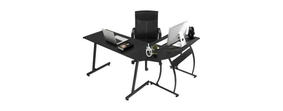 greenforest l-shape corner computer office desk
