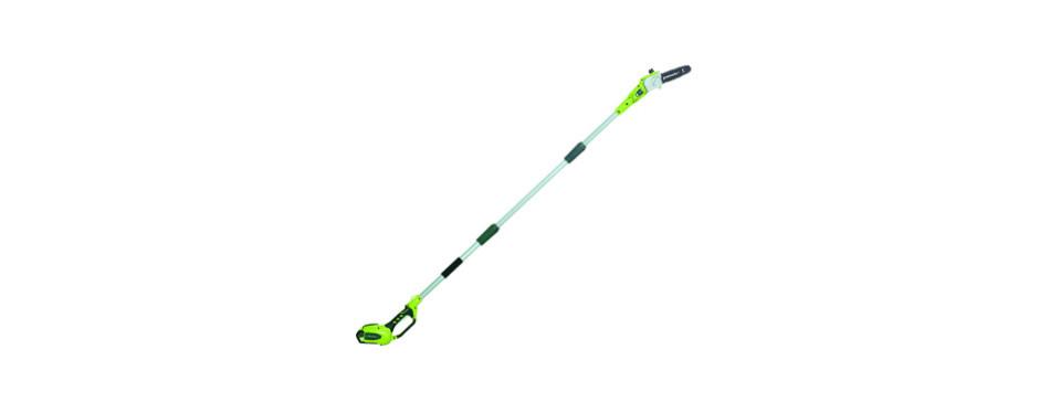 greenworks 20672 8.5' 40v cordless pole saw