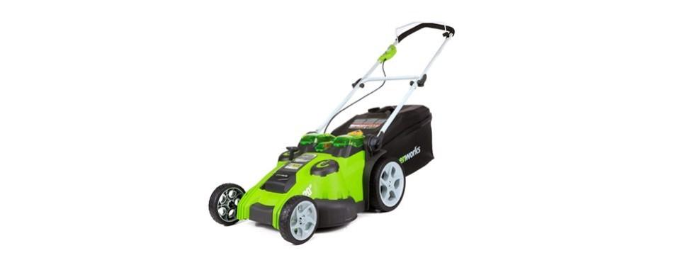 greenworks cordless lawnmower