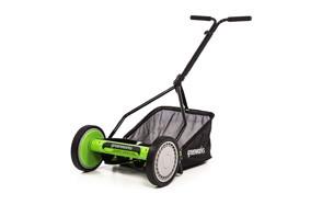 greenworks reel mower