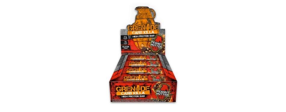 grenade nutrition carb killa protein bar