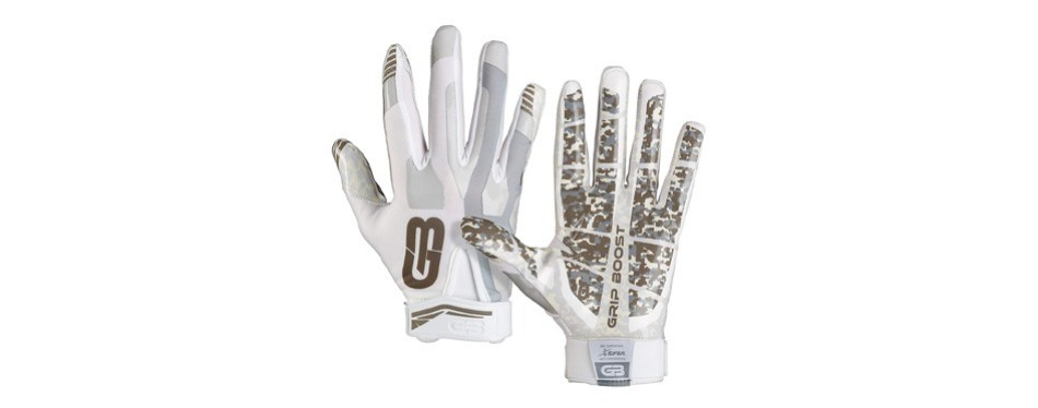 grip boost stealth pro elite football gloves