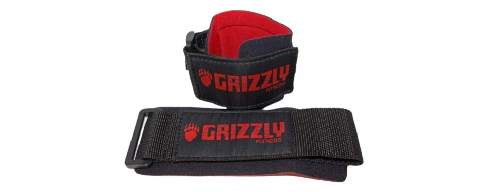 grizzly fitness power weight training wrist wraps