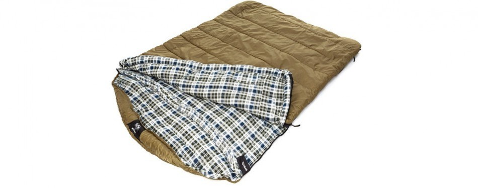 grizzly sleeping bag by blackpine sports