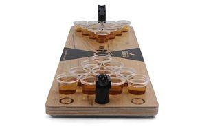 grown man games mini beer pong