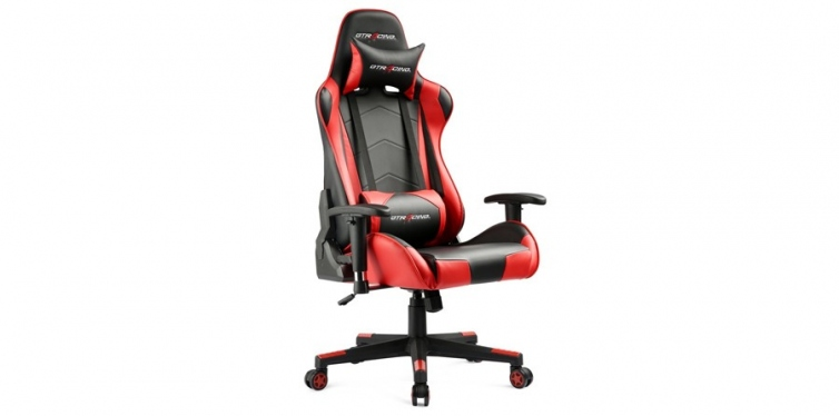 GTracing Gaming Office Chair in Blood Red
