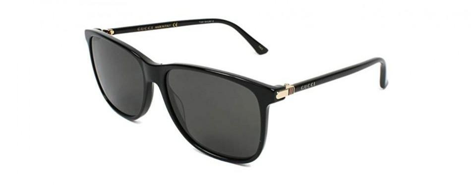 gucci 008 black-and-grey sunglasses