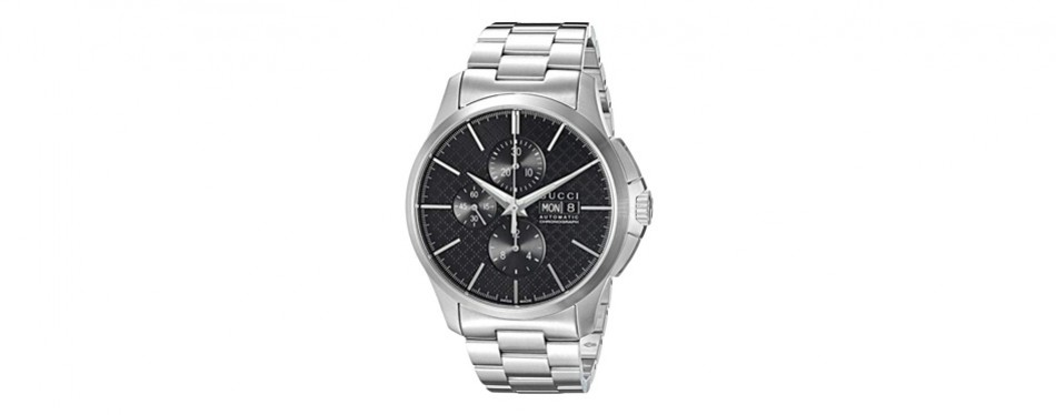 gucci g-timeless analog silver men's watch
