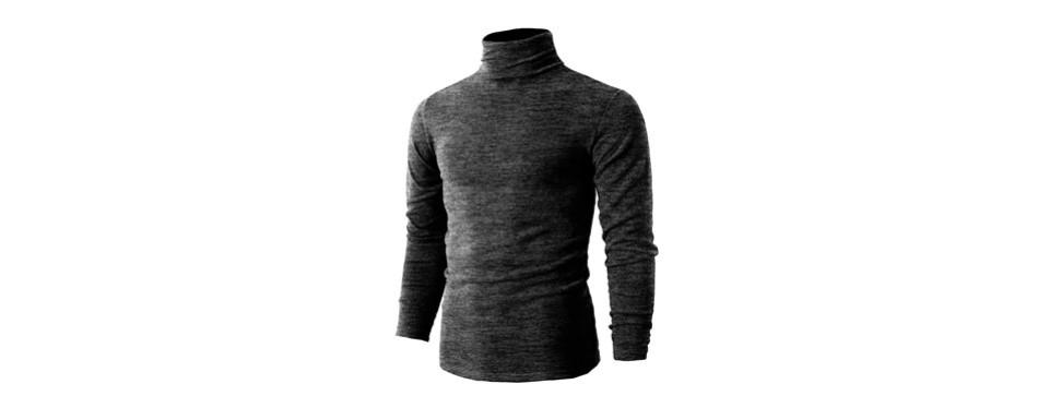 h2h men's turtleneck pullover sweaters