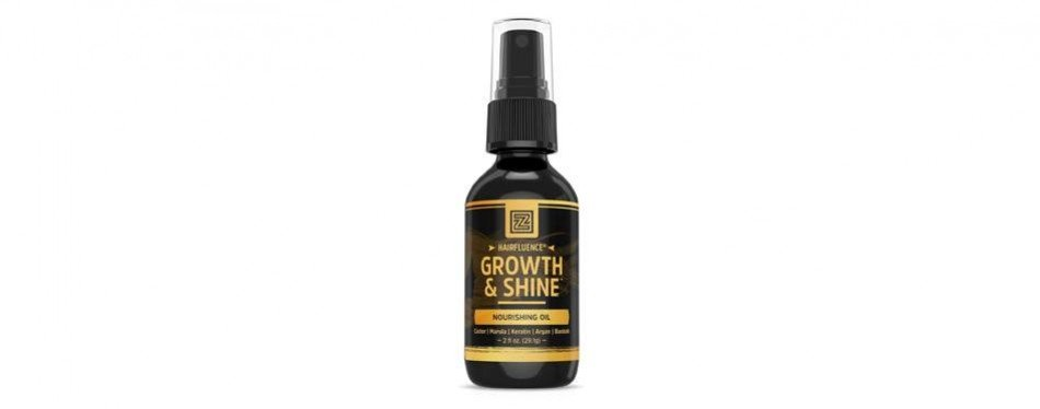 hairfluence growth and shine hair oil