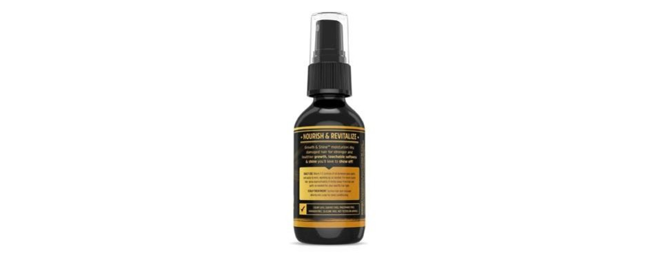 hairfluence growth and shine hair oil