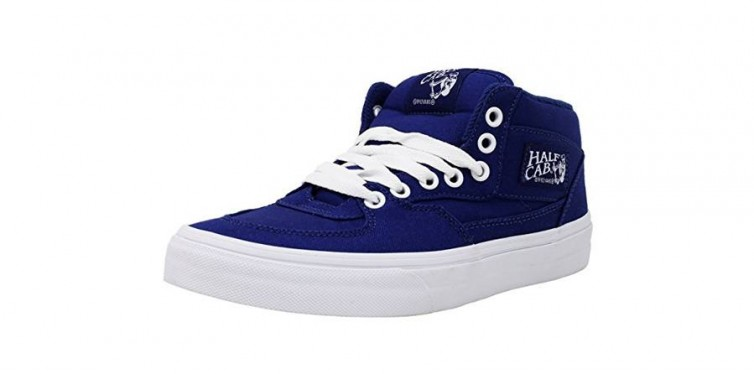 half cab low-top fashion sneakers
